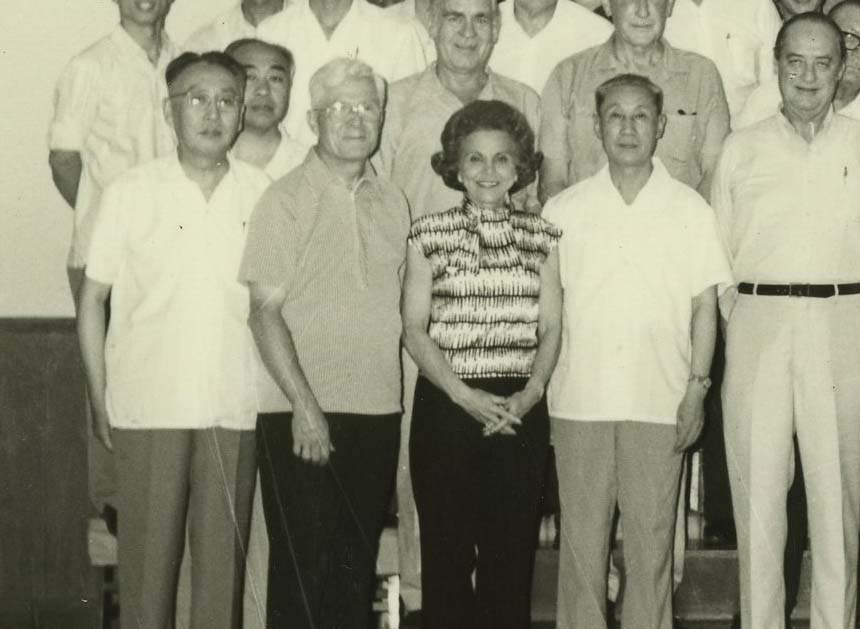Ann Landers with Jay M. Arena in China, 1975