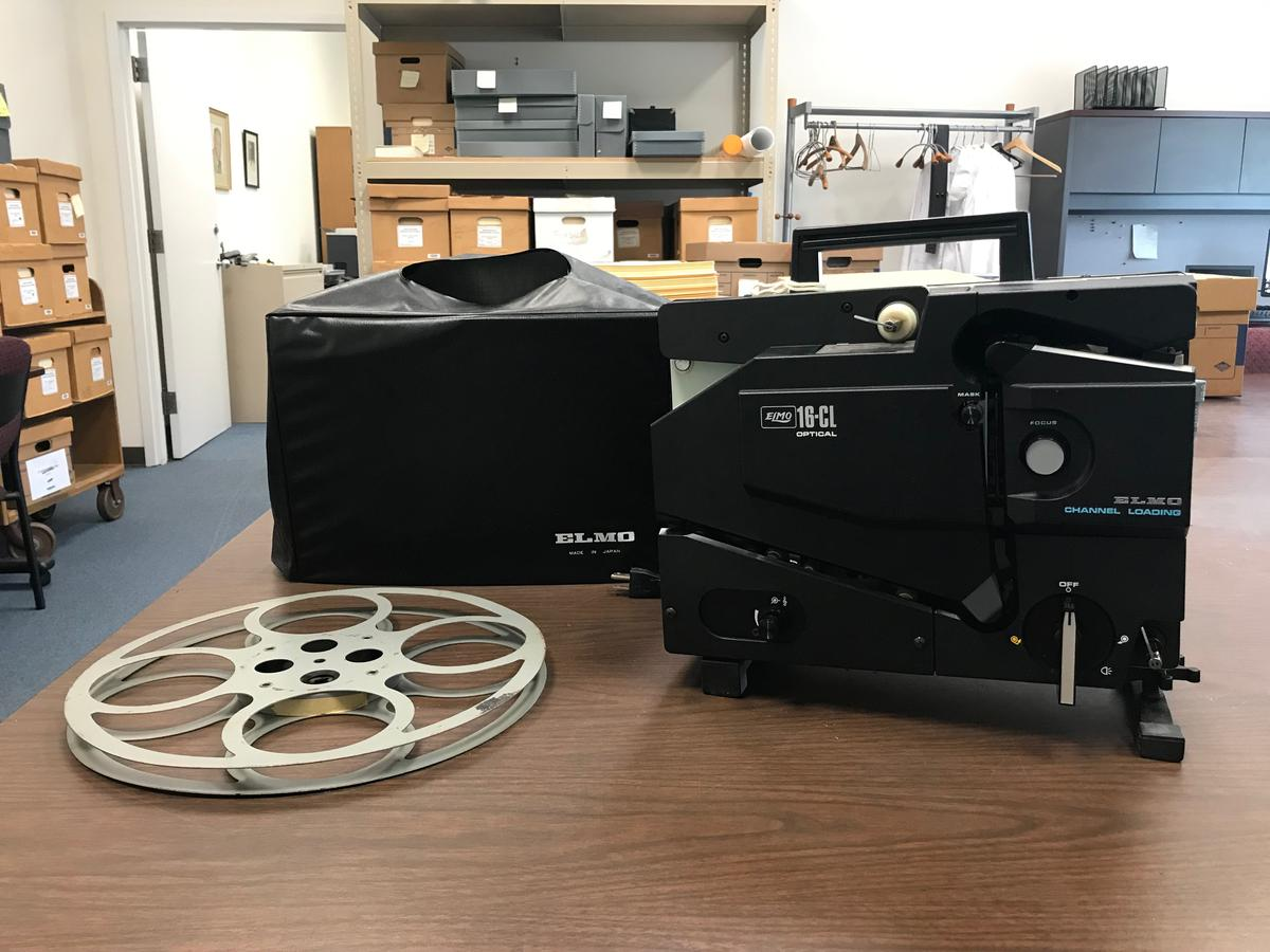 Elmo 16-CL 16mm film projector