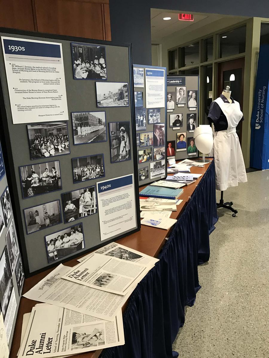 school of nursing display